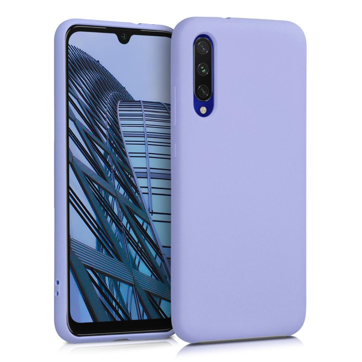 KW Θήκη Σιλικόνης Xiaomi Mi A3 - Soft Flexible Rubber - Lavender (49680.108)