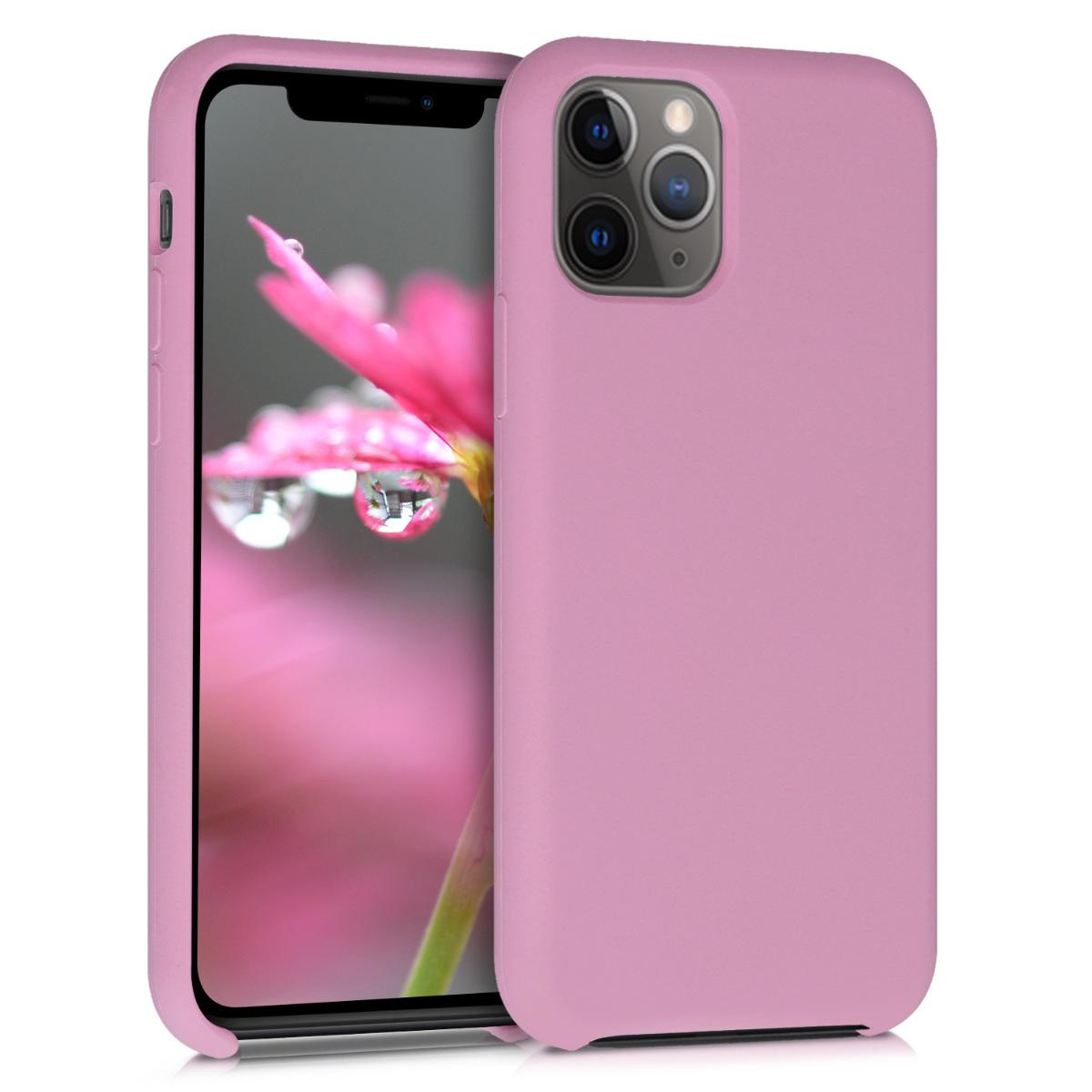 KW Θήκη Σιλικόνης Apple iPhone 11 Pro Max - Soft Flexible Rubber - Mulberry (49725.151)