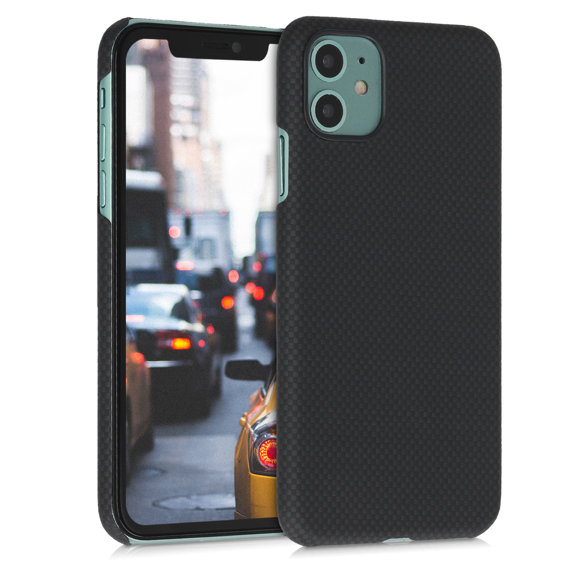 Kalibri Aramid Fiber Body - Σκληρή Θήκη Apple iPhone 11 - Black (49734.01)