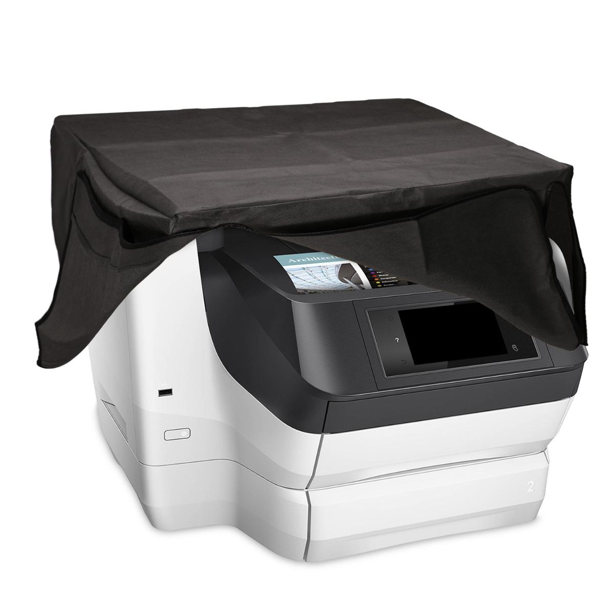 KW Κάλυμμα Εκτυπωτή HP Officejet Pro 8740/8745 - Dark Grey (49776.19)