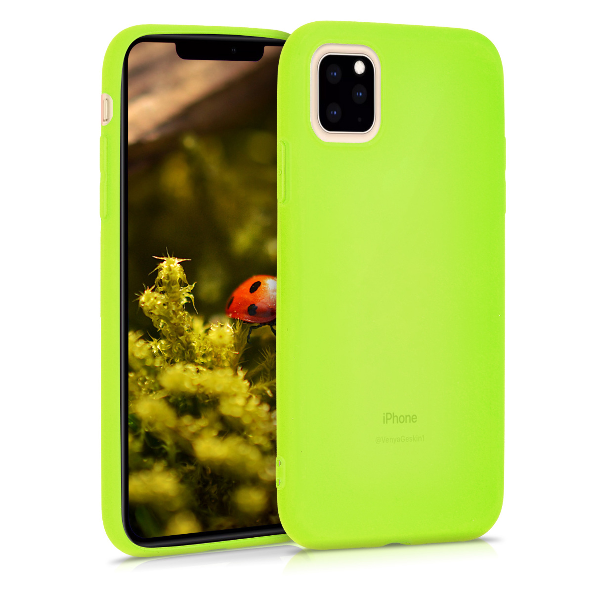 KW Θήκη Σιλικόνης Apple iPhone 11 Pro - Neon Yellow (49781.75)