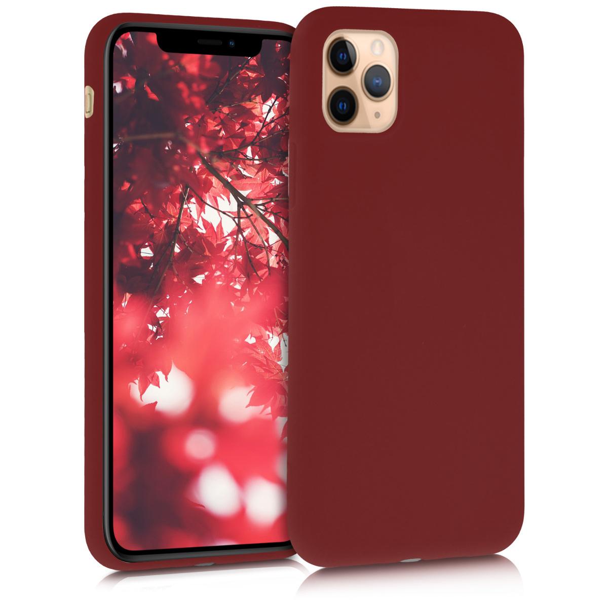 KW Θήκη Σιλικόνης iPhone 11 Pro - Red Matte (49788.09)