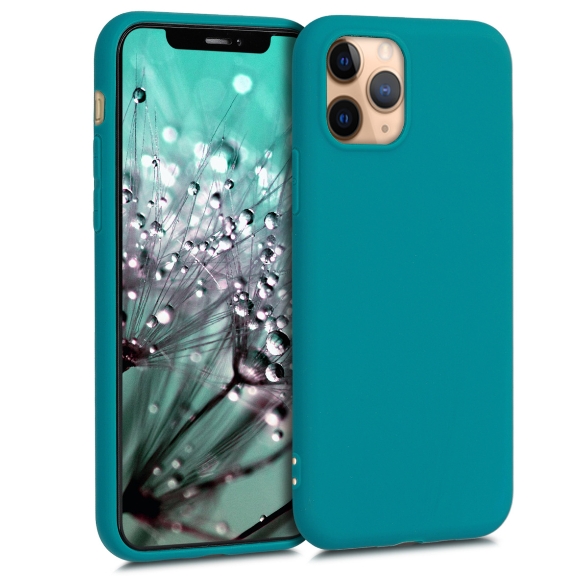 KW Θήκη Σιλικόνης Apple iPhone 11 Pro - Teal Matte (49788.57)