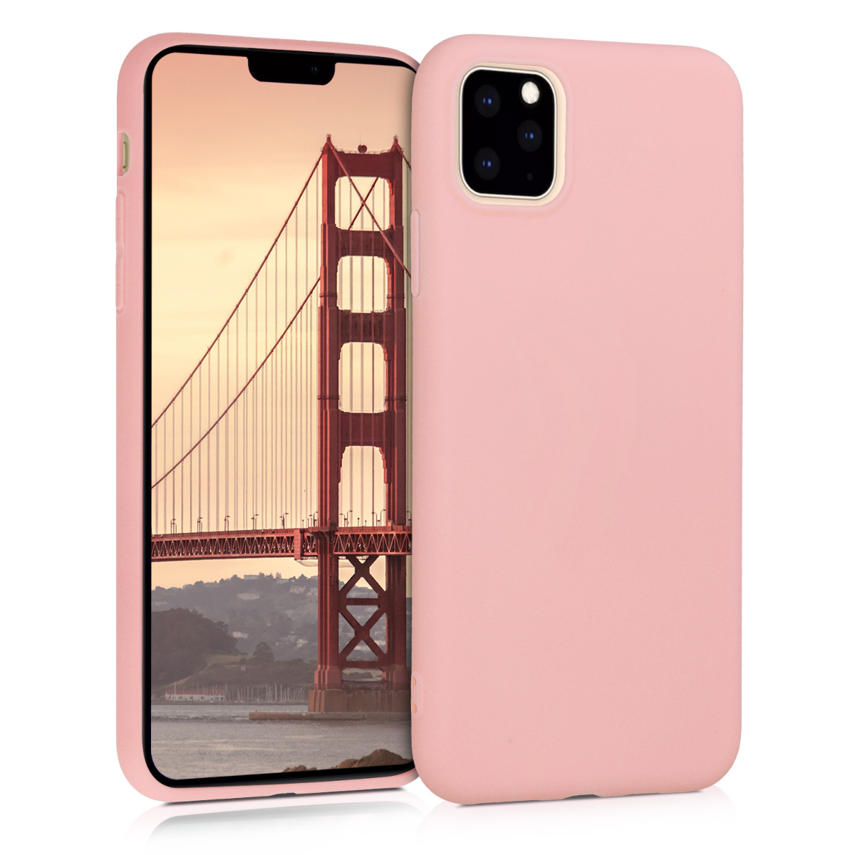 KW Θήκη Σιλικόνης iPhone 11 Pro Max - Rose Gold Matte (49789.89)