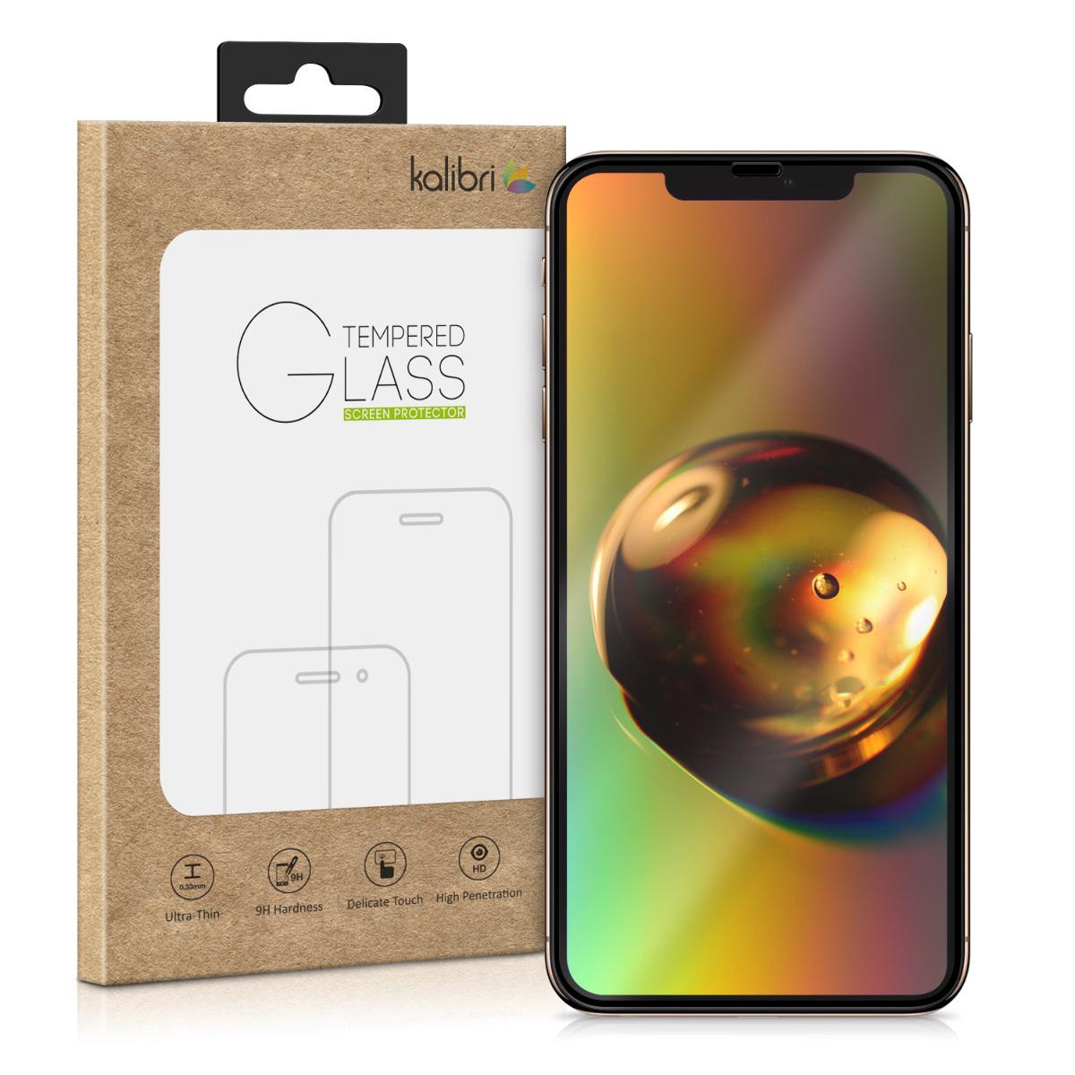 Kalibri Tempered Glass - Fullface Αντιχαρακτικό Γυαλί Οθόνης Apple iPhone 11 Pro - Black (49801.01)