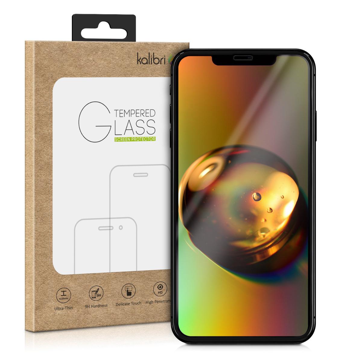 Kalibri Tempered Glass - Fullface Αντιχαρακτικό Γυαλί Οθόνης iPhone 11 - Black (49802.01)