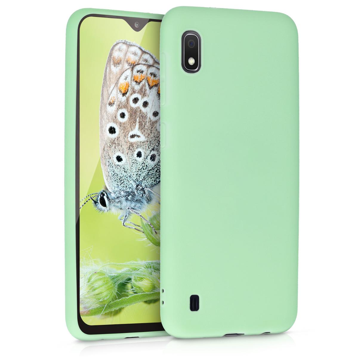 KW Θήκη Σιλικόνης Samsung Galaxy A10 - Mint Matte (49814.50)