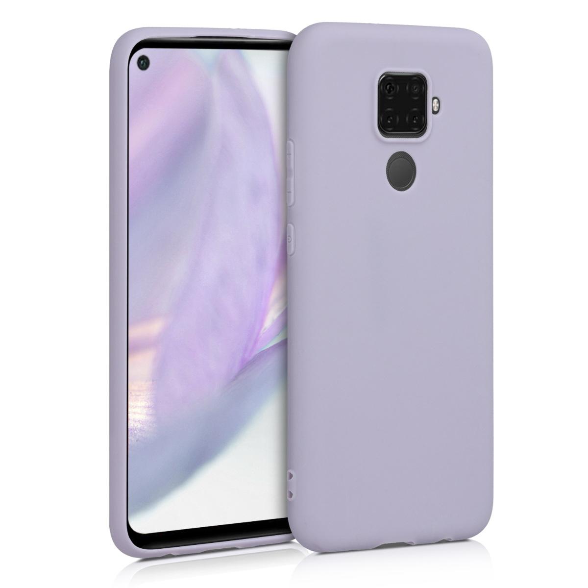KW Θήκη Σιλικόνης Huawei Mate 30 Lite - Lavender (50153.108)