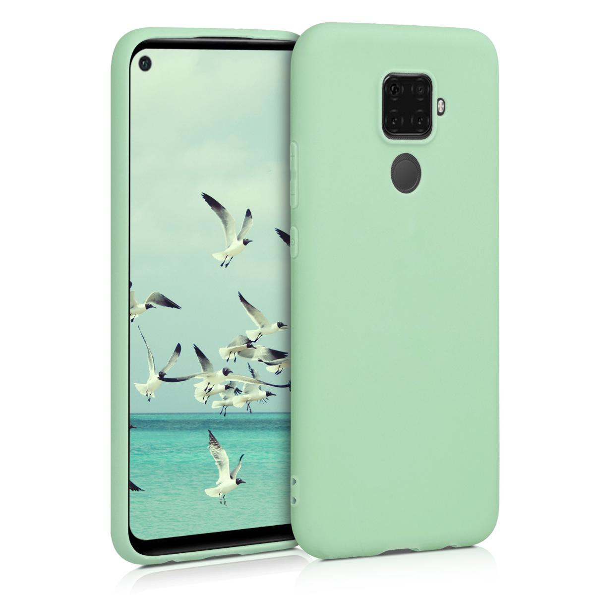 KW Θήκη Σιλικόνης Huawei Mate 30 Lite - Mint Matte (50153.50)
