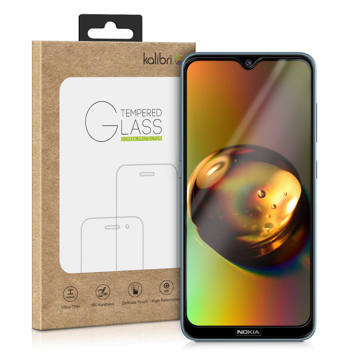 Kalibri Tempered Glass - Fullface Αντιχαρακτικό Γυαλί Οθόνης Nokia 6.2 - Black (50162.1)