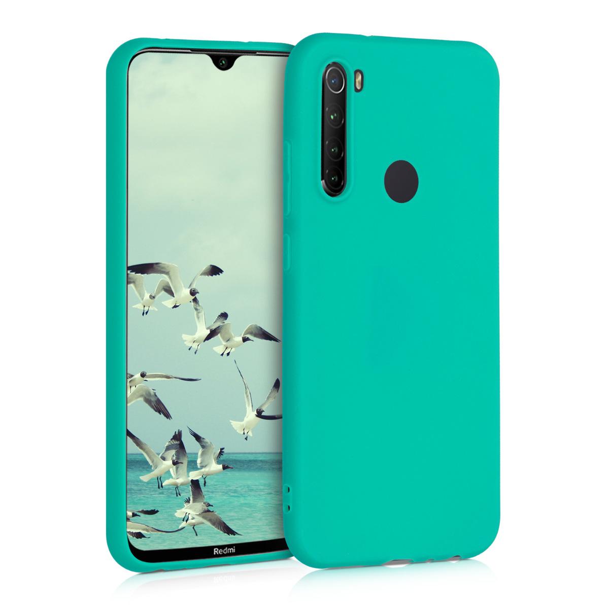KW Θήκη Σιλικόνης Xiaomi Redmi Note 8 - Neon Turquoise (50190.126)