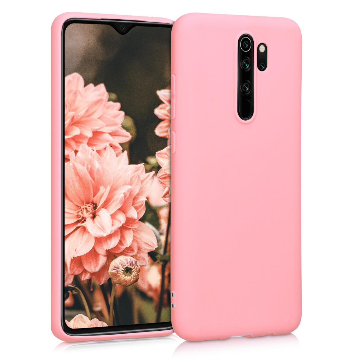 KW Θήκη Σιλικόνης Xiaomi Redmi Note 8 Pro - Light Pink Matte (50242.123)