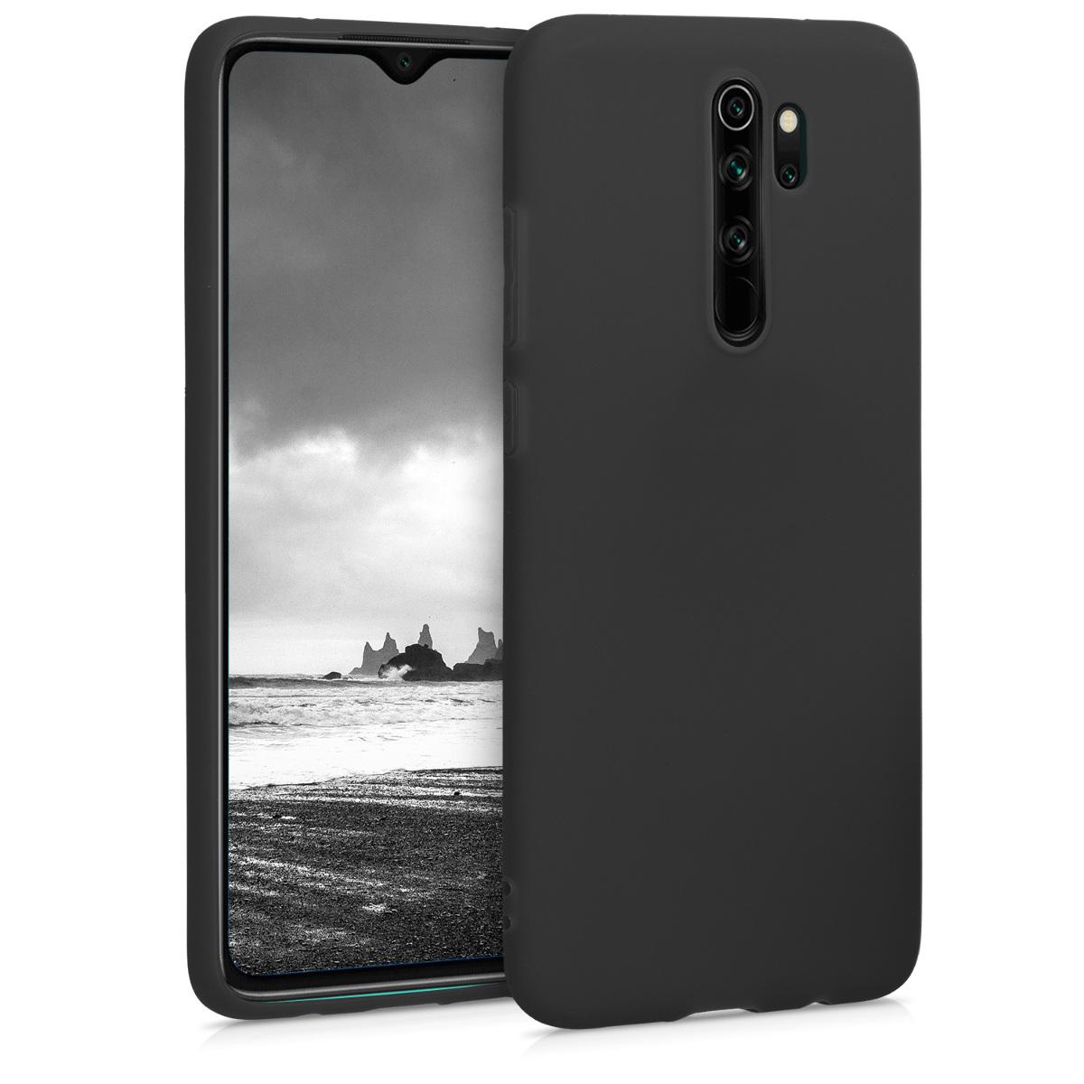 KW Θήκη Σιλικόνης Xiaomi Redmi Note 8 Pro - Black Matte (50242.47)
