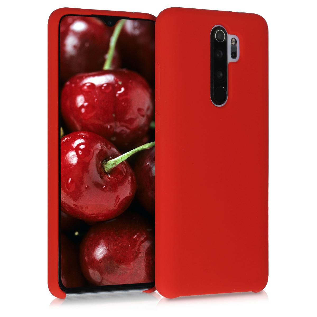 KW Θήκη Σιλικόνης Xiaomi Redmi Note 8 Pro - Soft Flexible Rubber - Red Matte (50248.51)