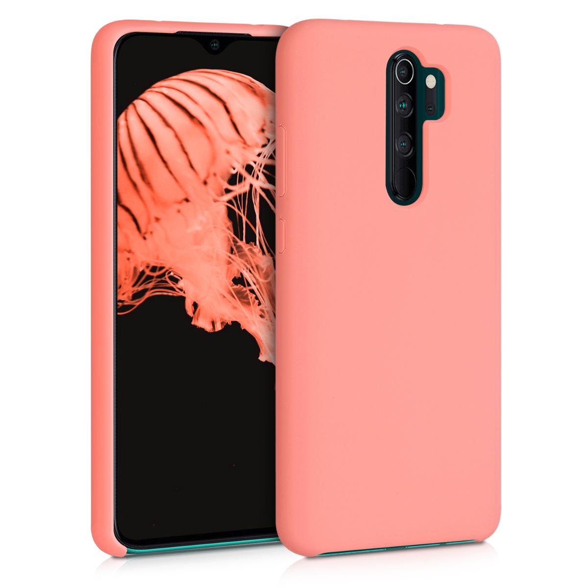 KW Θήκη Σιλικόνης Xiaomi Redmi Note 8 Pro - Soft Flexible Rubber - Coral Matte (50248.56)