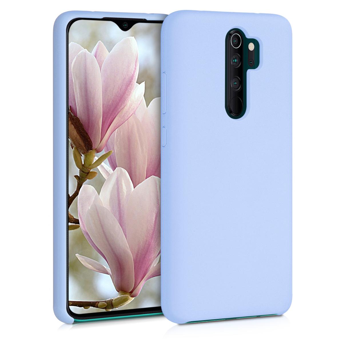KW Θήκη Σιλικόνης Xiaomi Redmi Note 8 Pro - Soft Flexible Rubber - Light Blue Matte (50248.58)