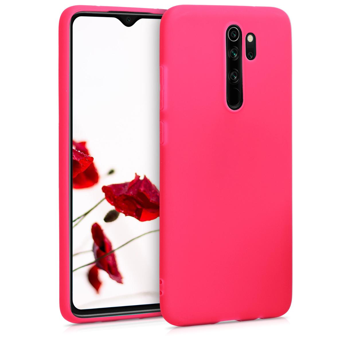 KW Θήκη Σιλικόνης Xiaomi Redmi Note 8 Pro - Neon Pink (50251.77)