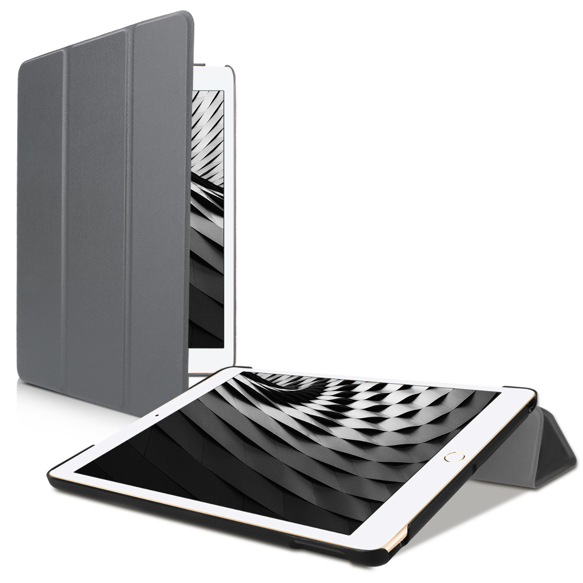 KW Θήκη iPad 10.2'' 2019 - Smart Cover with Stand - Anthracite (50341.73)