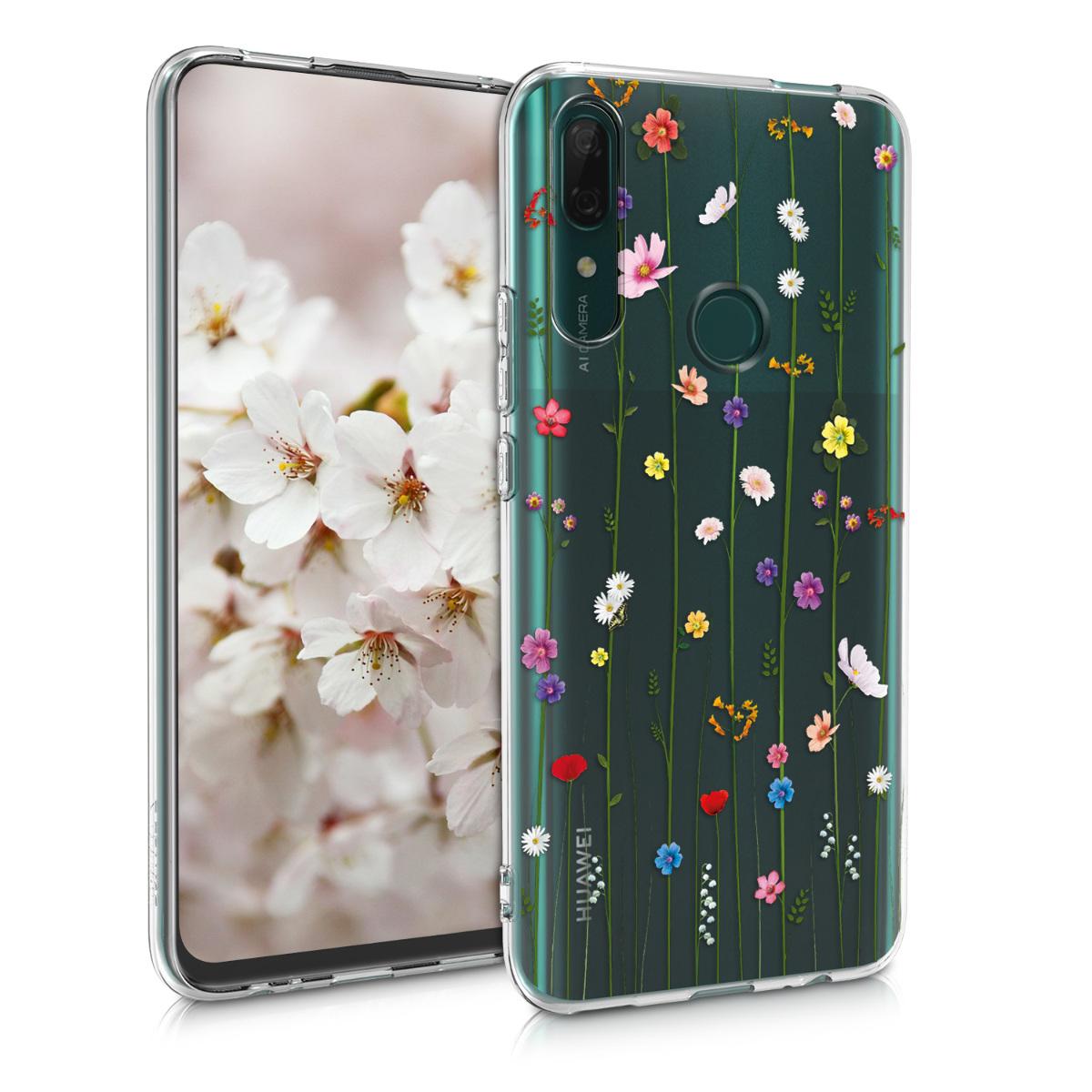KW Θήκη Σιλικόνης Huawei P Smart Z - Multicolor / Transparent (50359.04)