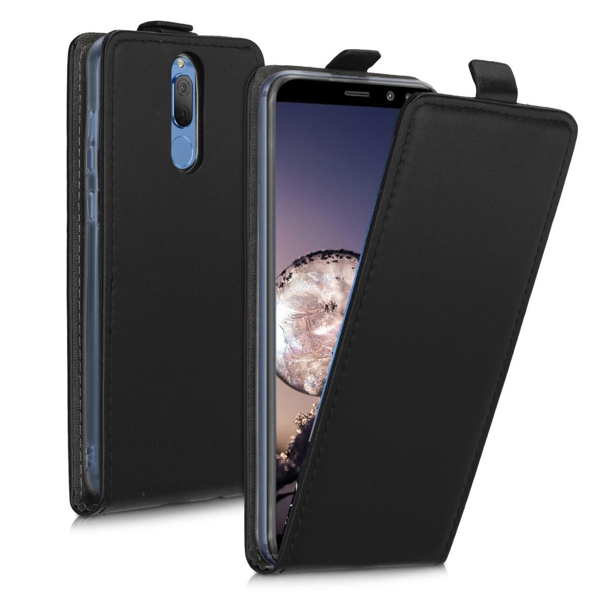 KW Flip Θήκη Huawei Mate 10 Lite - Black (50398.01)