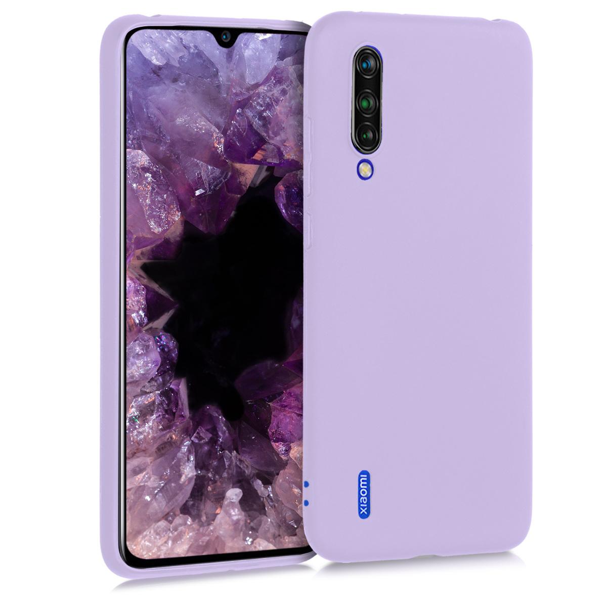 KW Θήκη Σιλικόνης Xiaomi Mi 9 Lite - Lavender (50582.108)