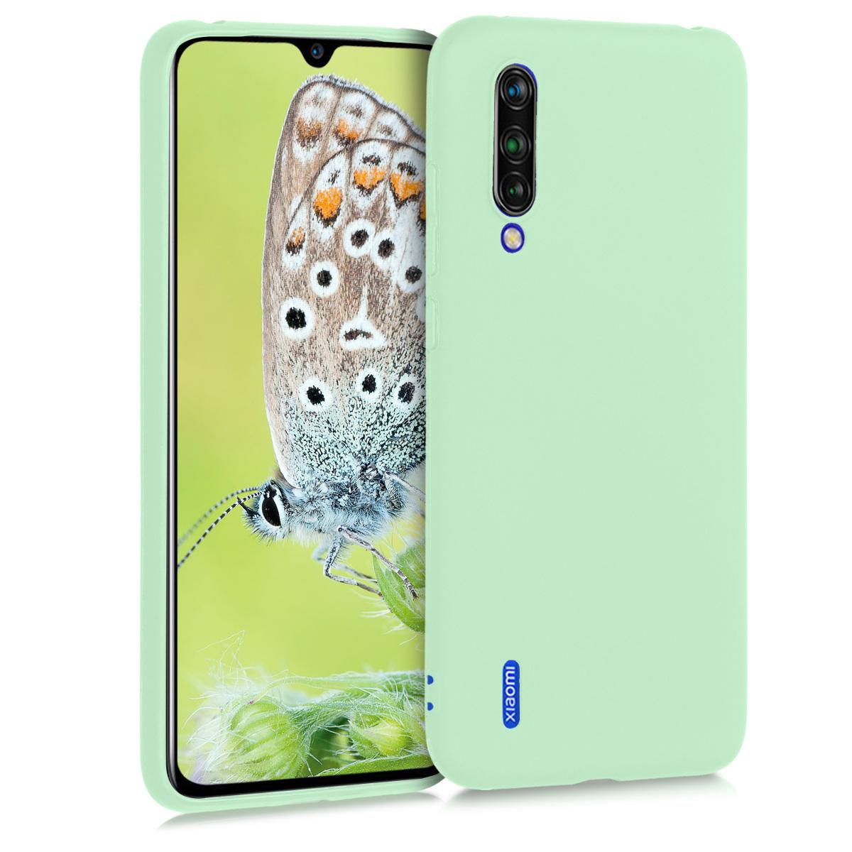 KW Θήκη Σιλικόνης Xiaomi Mi 9 Lite - Mint Matte (50582.50)