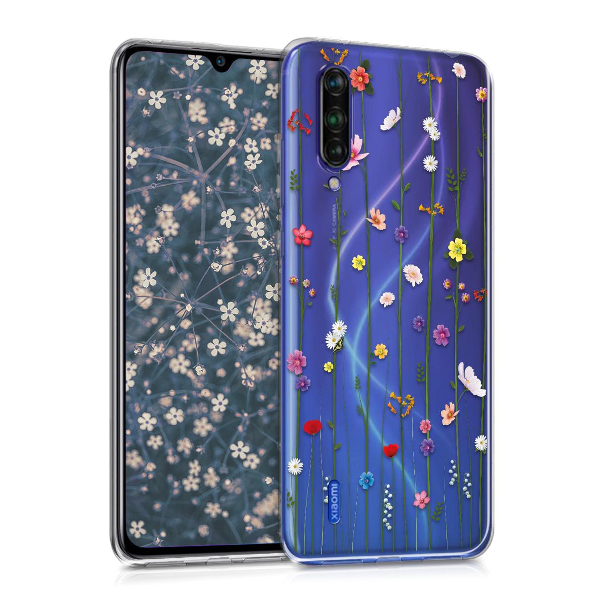 KW Θήκη Σιλικόνης Xiaomi Mi 9 Lite - Multicolor / Transparent (50608.01)