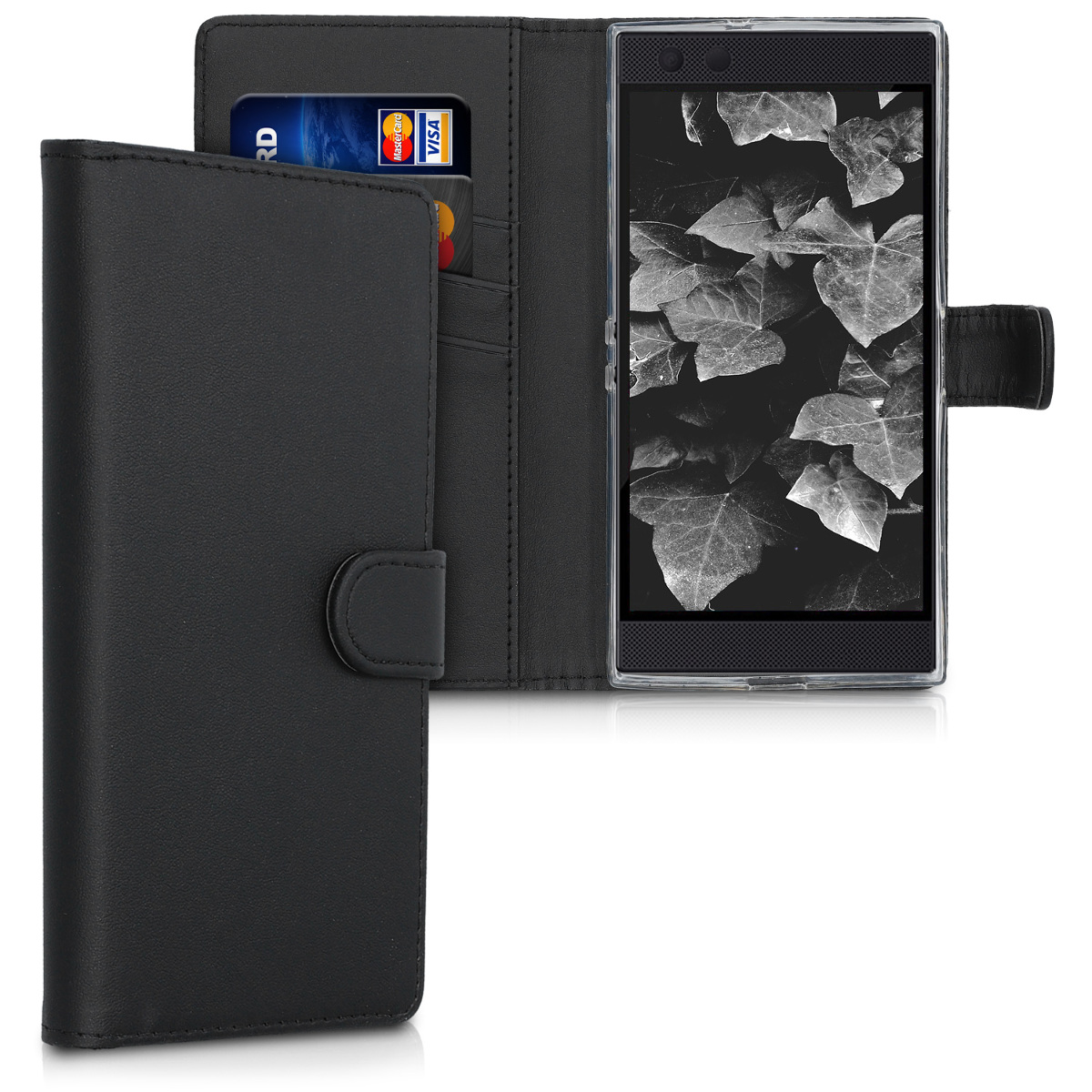 KW Θήκη - Πορτοφόλι Razer Phone 2 - Black (50625.01)