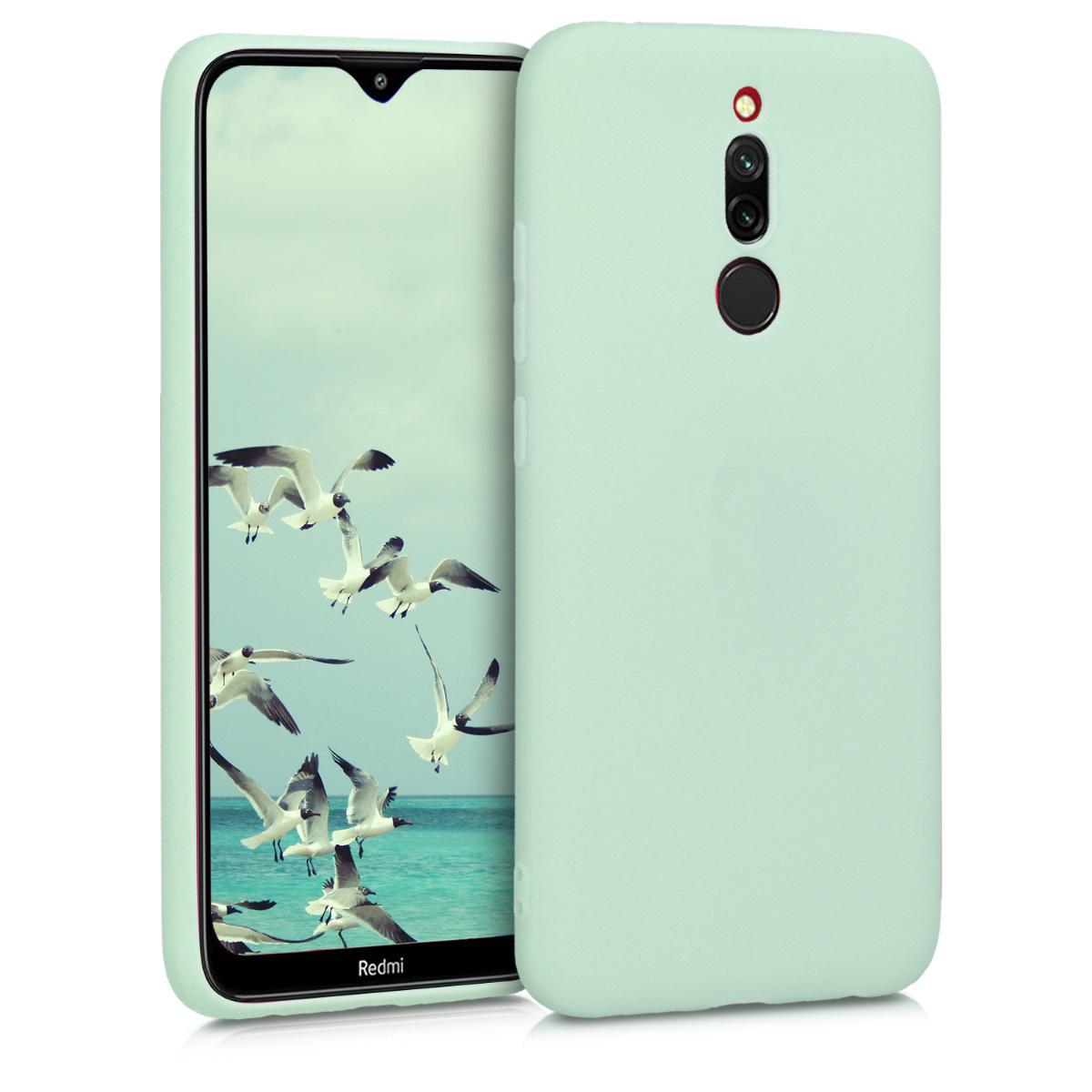 KW Θήκη Σιλικόνης Xiaomi Redmi 8 - Mint Matte (50640.50)