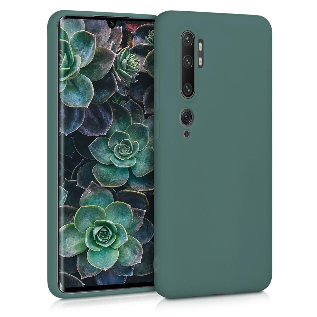 KW Θήκη Σιλικόνης Xiaomi Mi Note 10 / Mi Note 10 Pro - Blue Green (50948.171)