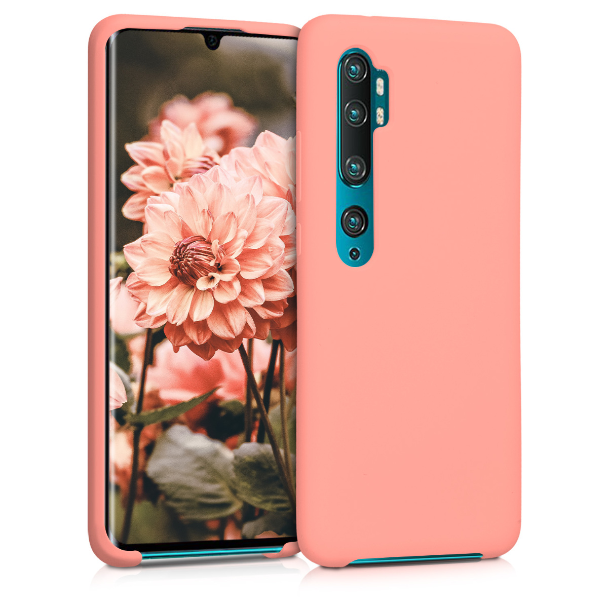 KW Θήκη Σιλικόνης Xiaomi Mi Note 10 / Note 10 Pro - Soft Flexible Rubber - Coral Matte (50949.56)