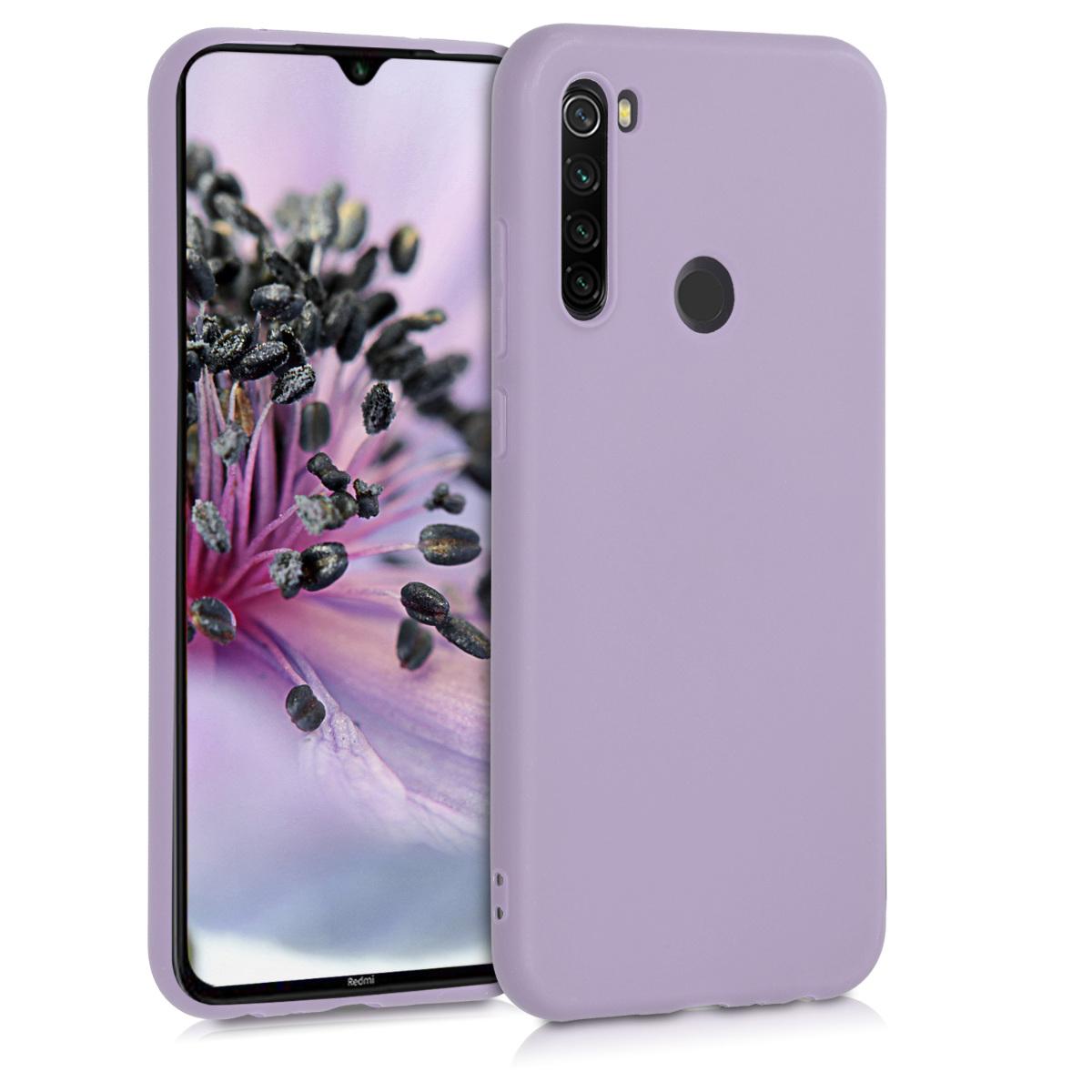 KW Θήκη Σιλικόνης Xiaomi Redmi Note 8T - Lavender (50956.108)