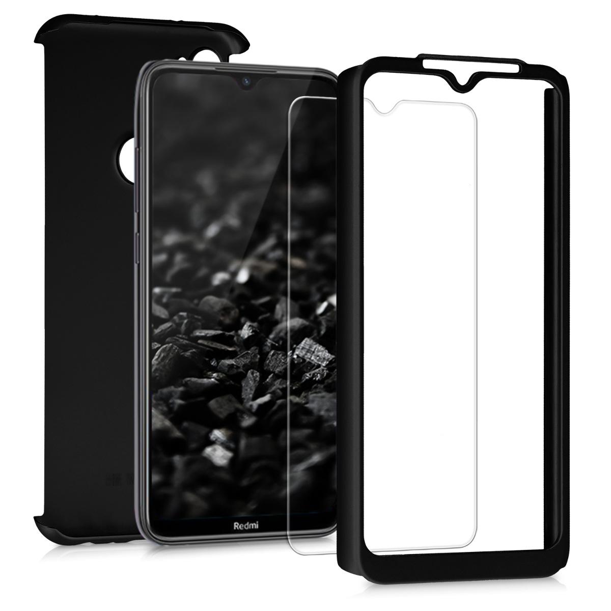 KW Θήκη Full Body Xiaomi Redmi Note 8T & Tempered Glass - Metallic Black (50989.68)