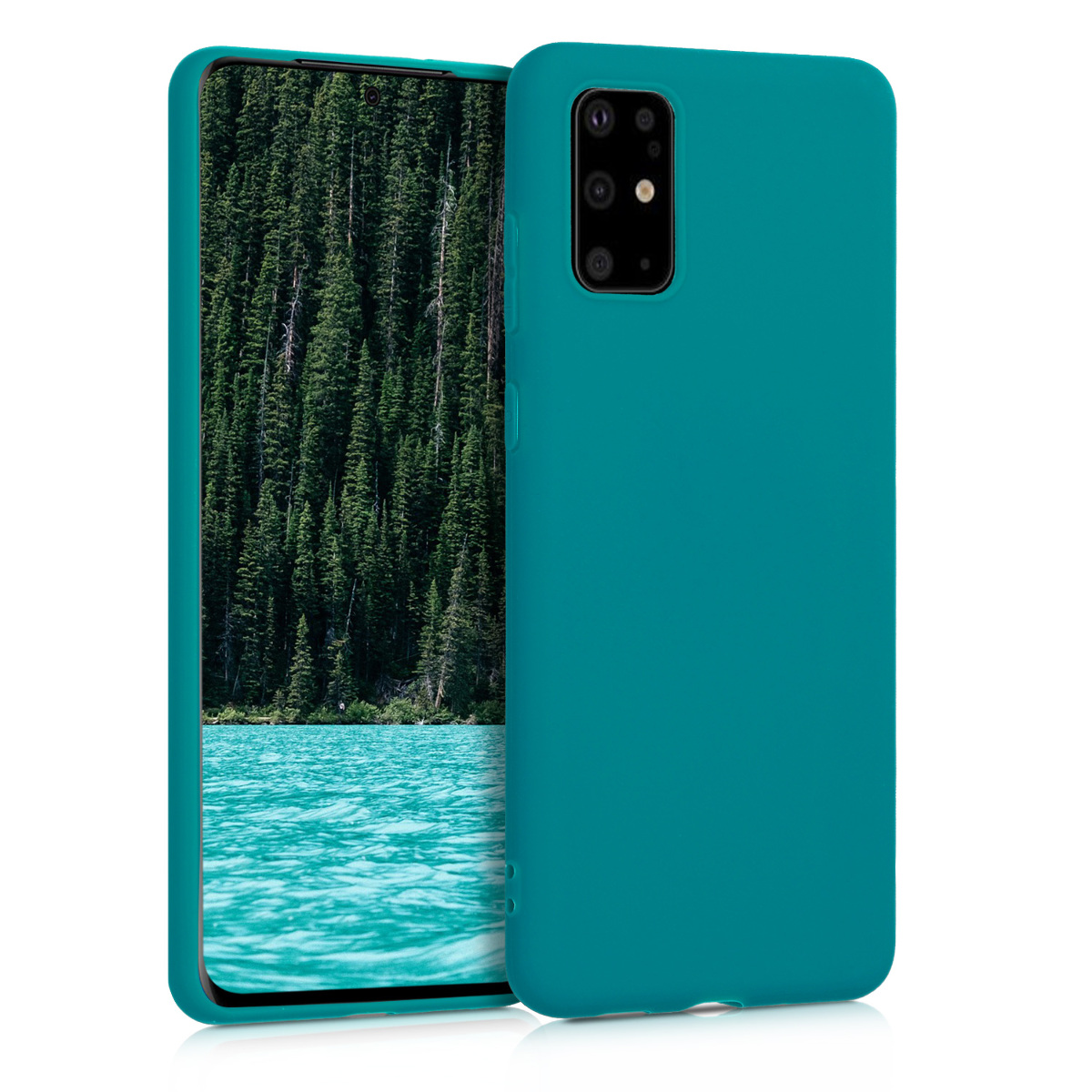 KW Θήκη Σιλικόνης Samsung Galaxy S20 Plus - Teal Matte (51216.57)