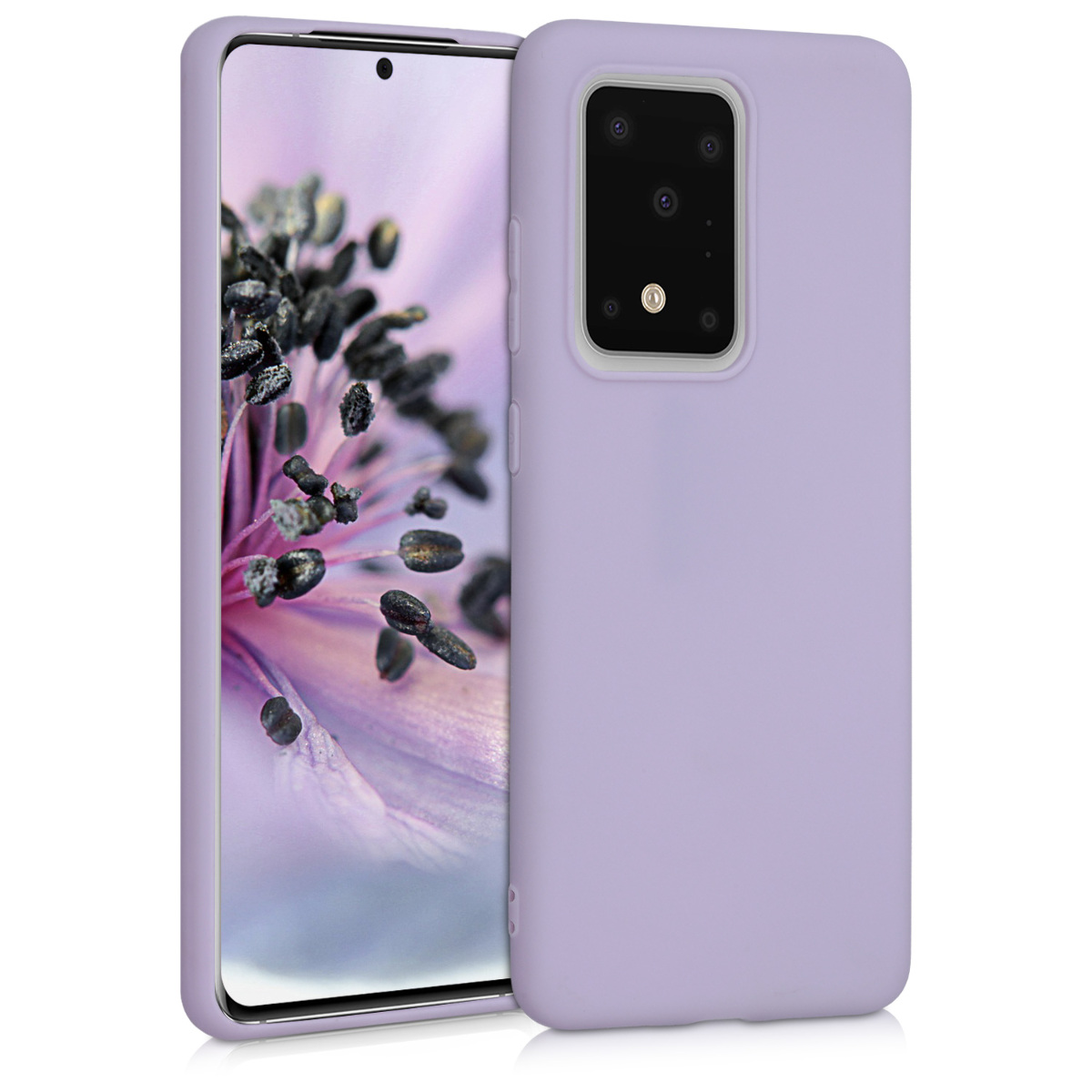 KW Θήκη Σιλικόνης Samsung Galaxy S20 Ultra - Lavender (51225.108)