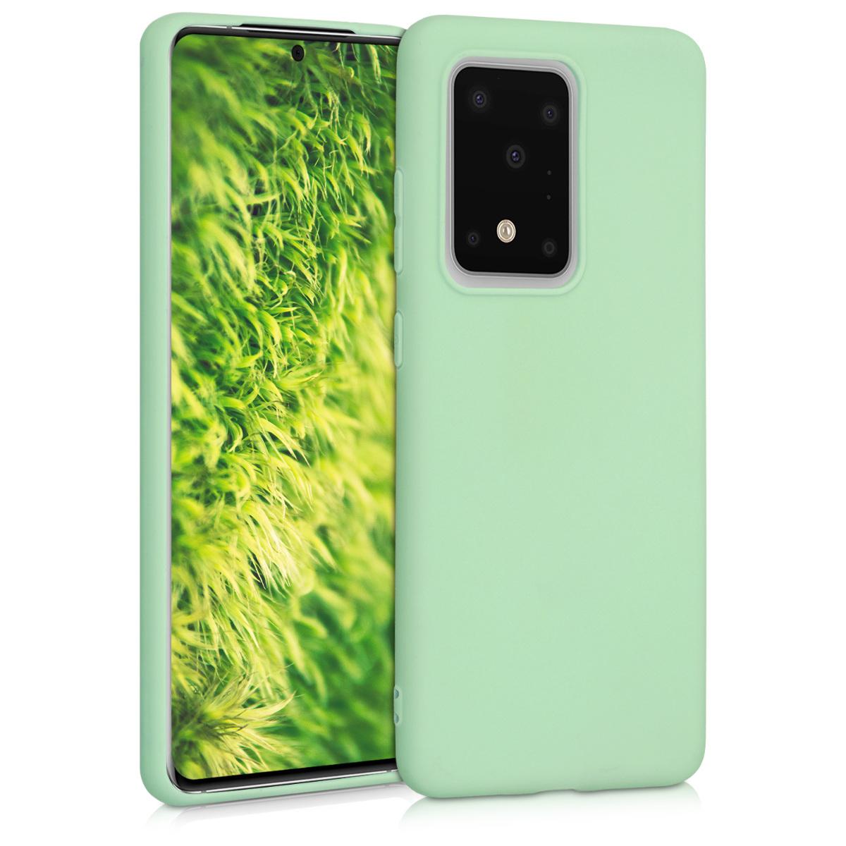 KW Θήκη Σιλικόνης Samsung Galaxy S20 Ultra - Mint Matte (51225.50)