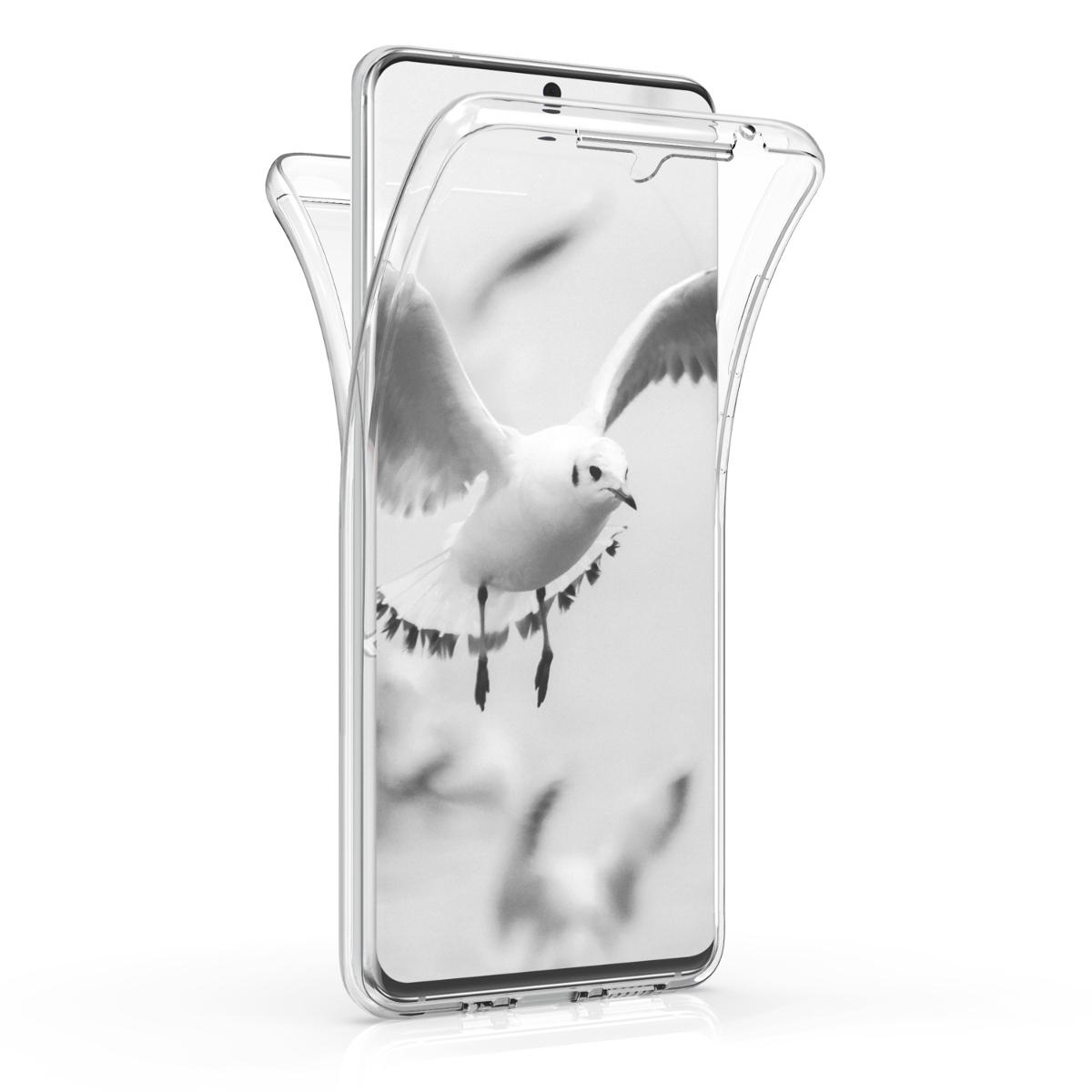 KW Θήκη Σιλικόνης Full Body Samsung Galaxy S20 Ultra - Transparent (51227.03)