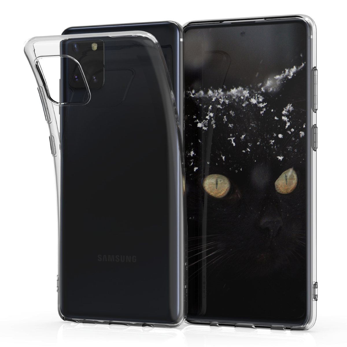 KW Θήκη Σιλικόνης Samsung Galaxy Note 10 Lite - Transparent (51370.03)