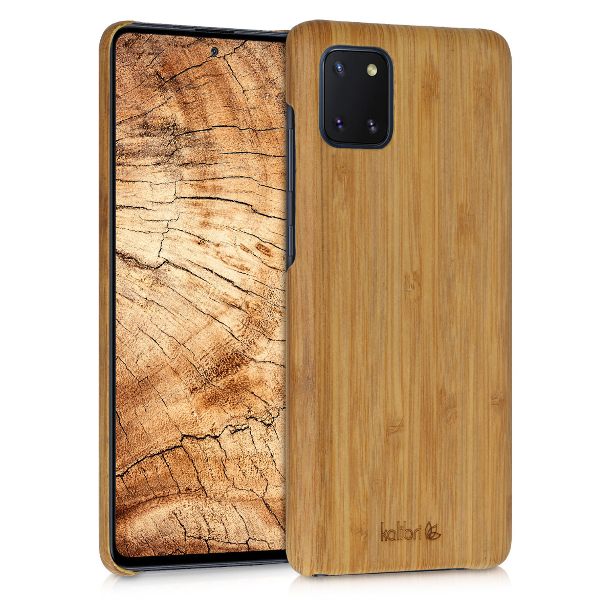 Kalibri Σκληρή Ξύλινη Θήκη Samsung Galaxy Note 10 Lite - Light Brown (51415.24)