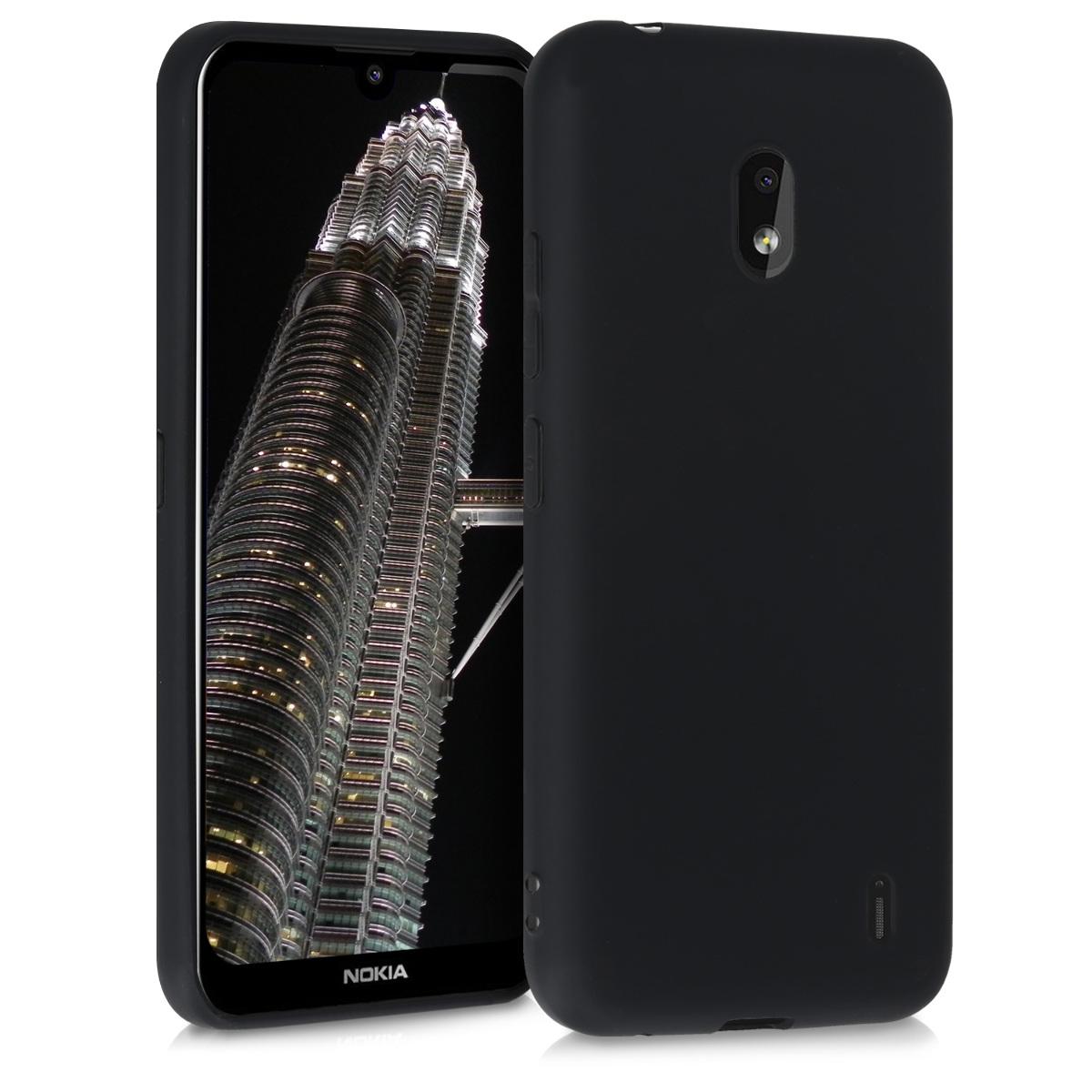KW Θήκη Σιλικόνης Nokia 2.2 - Black (51523.01)