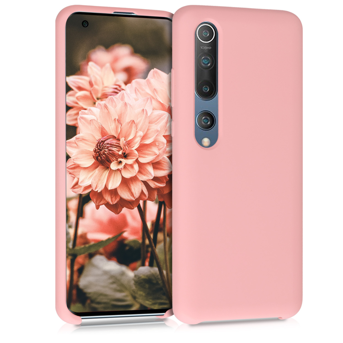 KW Θήκη Σιλικόνης Xiaomi Mi 10 / Mi 10 Pro - Antique Pink Matte (51804.52)