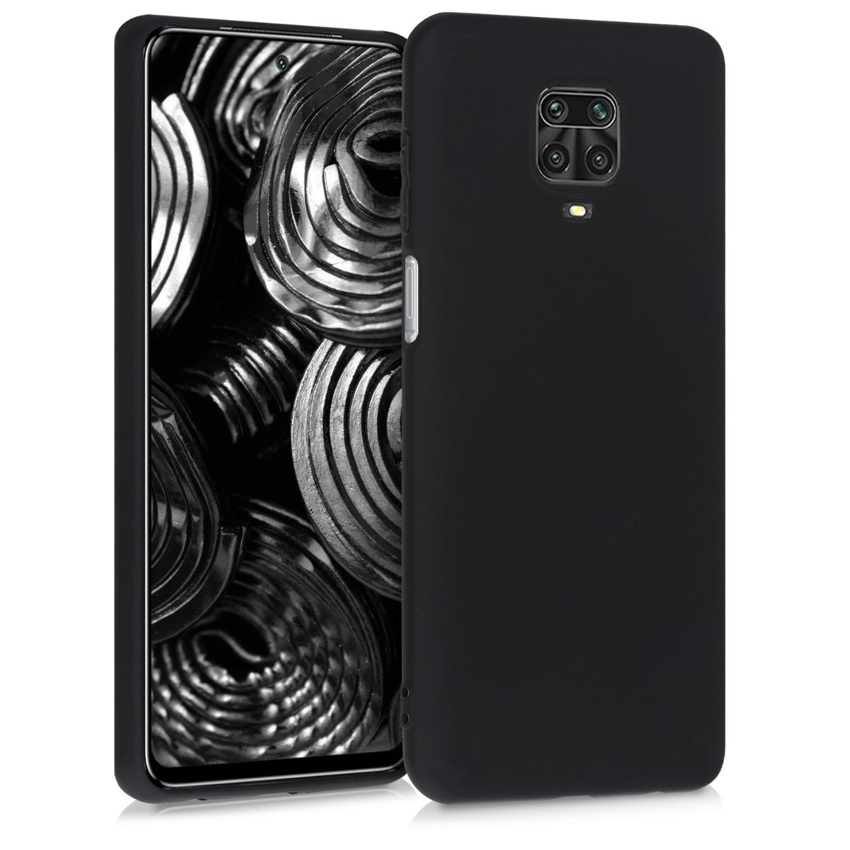 KW Θήκη Σιλικόνης Xiaomi Redmi Note 9S / 9 Pro / 9 Pro Max - Black Matte (52140.47)