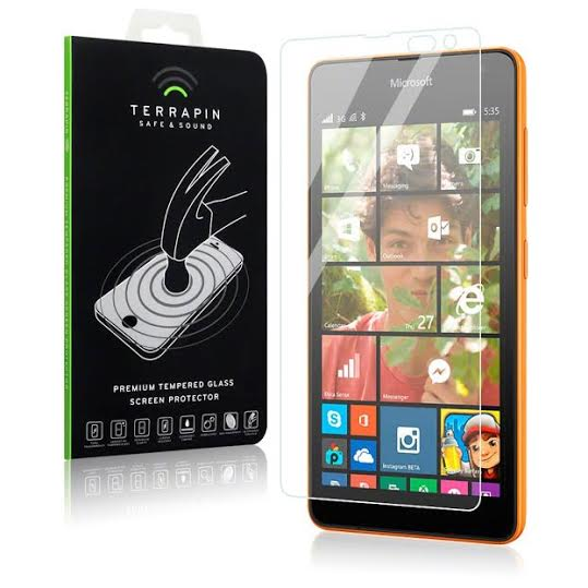 Αντιχαρακτικό Γυάλινο Screen Protector Microsoft Lumia 535 by Terrapin (006-116-016)