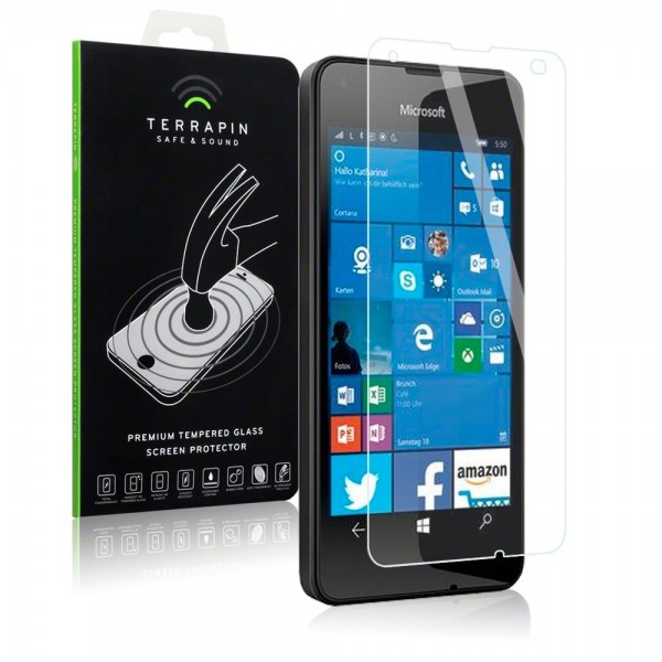 Αντιχαρακτικό Γυάλινο Screen Protector Microsoft Lumia 550 by Terrapin (006-116-032)