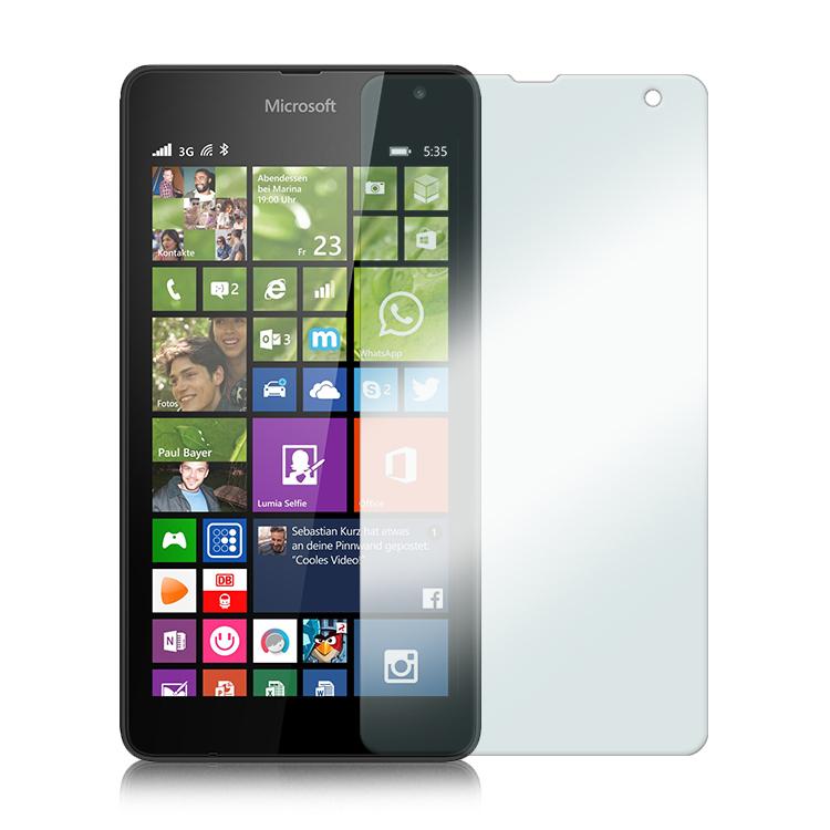 SHTL Αντιχαρακτικό Γυάλινο Screen Protector Microsoft Lumia 535 (35981)