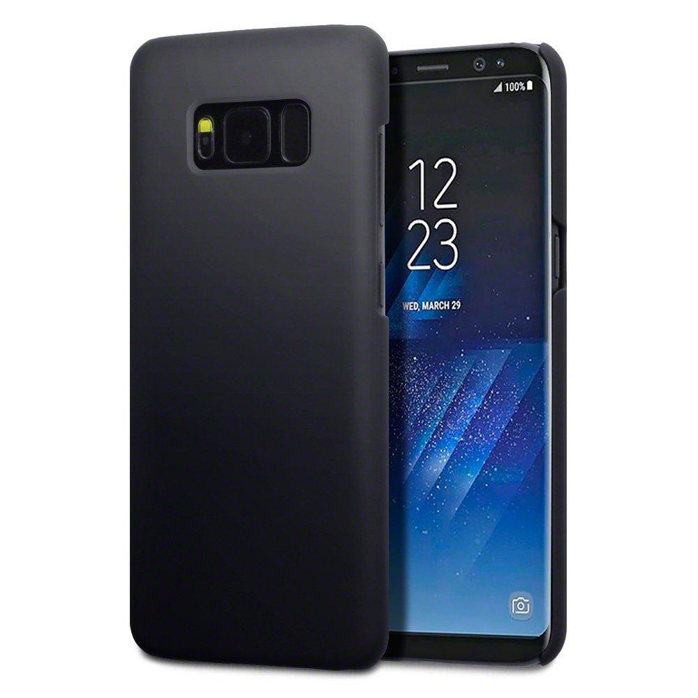 Terrapin Σκληρή Θήκη Καουτσούκ Samsung Galaxy S8 - Black (151-002-176)