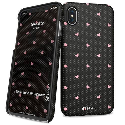 i-Paint Slim Σκληρή Θήκη iPhone X / XS - Sweety (860104)