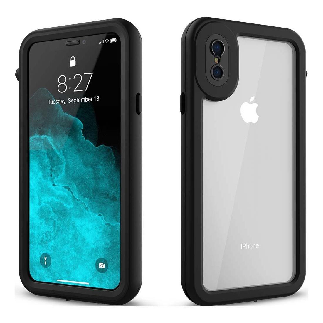 Hitcase Splash Αδιάβροχη Ανθεκτική Θήκη iPhone X/XS - Black (HC81000)