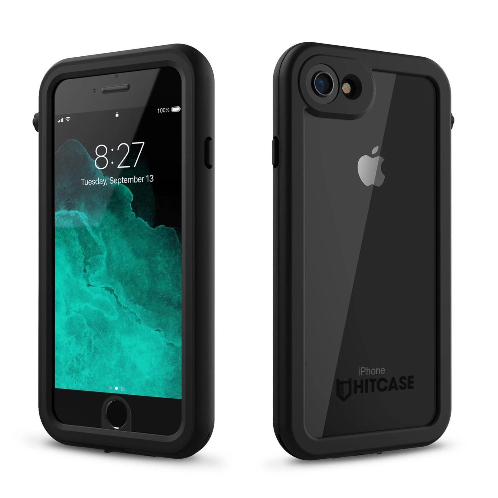 Hitcase Splash Αδιάβροχη Ανθεκτική Θήκη iPhone 7 / 8 - Black (HC81200)
