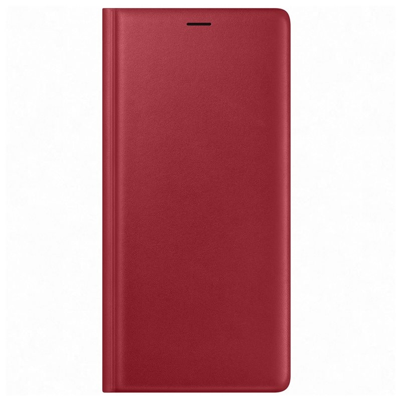 Official Leather Wallet - Δερμάτινη Θήκη Wallet Samsung Galaxy Note 9 - Red (EF-WN960R)